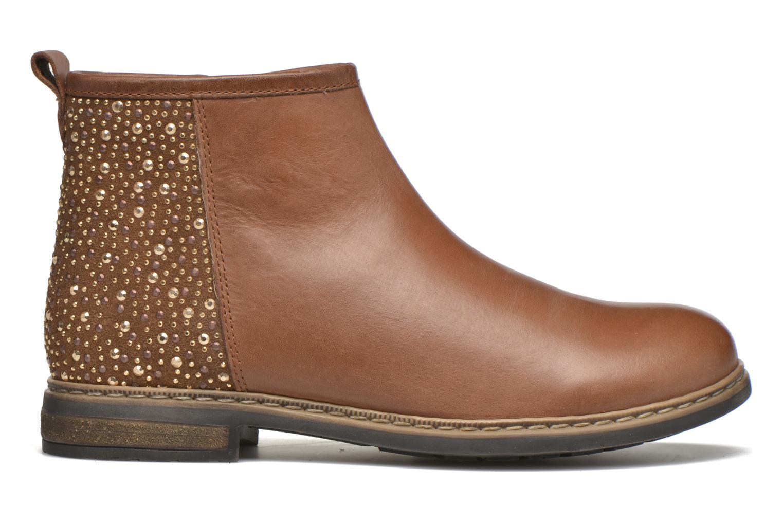 Stiefeletten & Boots Shwik Picpus Back Stain braun ansicht von hinten