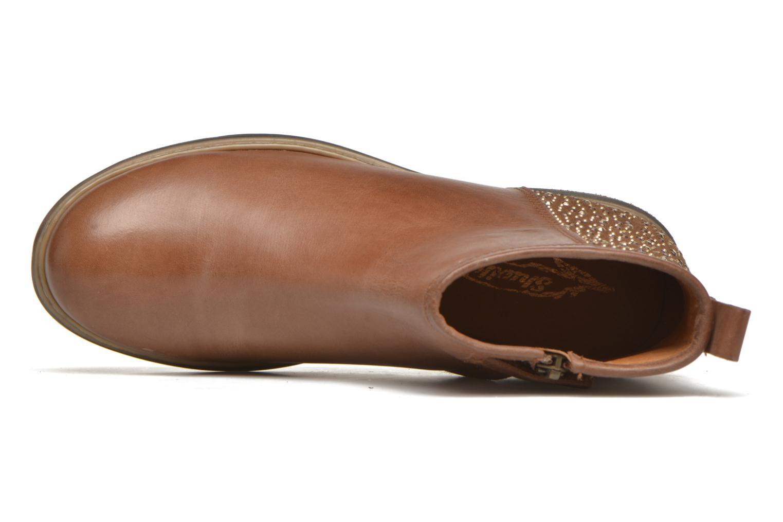 Stiefeletten & Boots Shwik Picpus Back Stain braun ansicht von links