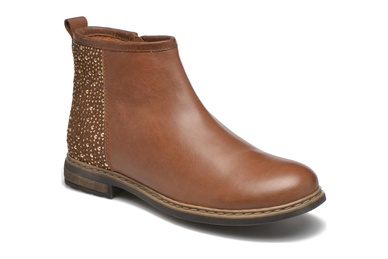 Stiefeletten & Boots Shwik Picpus Back Stain braun detaillierte ansicht/modell