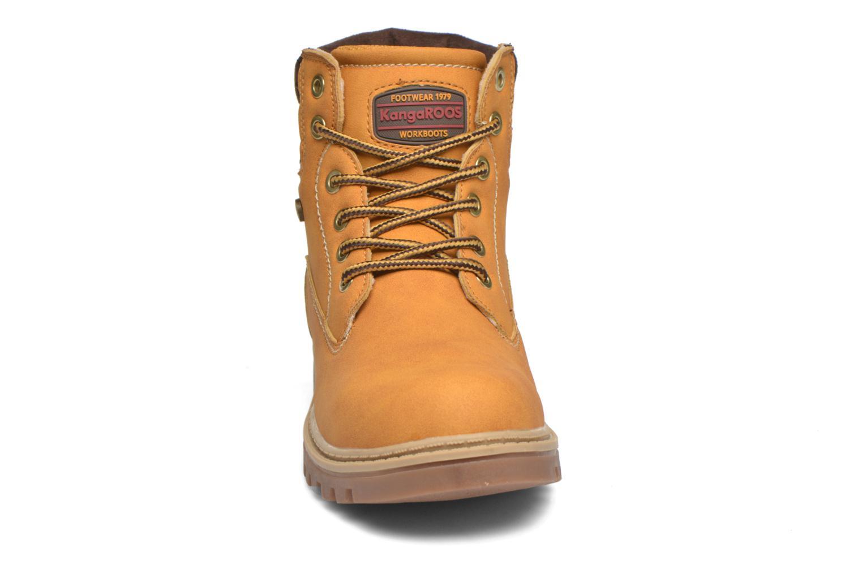Bottines et boots Kangaroos Riveter JR Beige vue portées chaussures