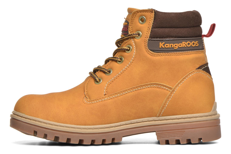 Bottines et boots Kangaroos Riveter JR Beige vue face