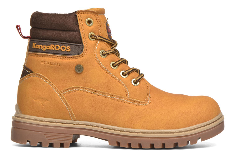 Bottines et boots Kangaroos Riveter JR Beige vue derrière
