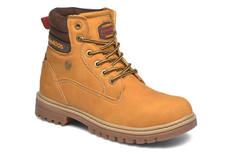 Boots en enkellaarsjes Kangaroos Riveter JR Beige detail