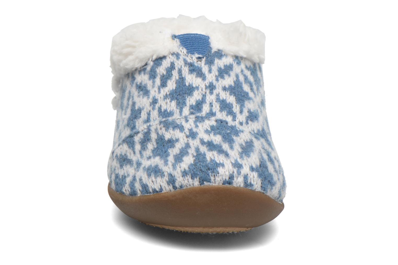 Hausschuhe TOMS House Slipper blau schuhe getragen