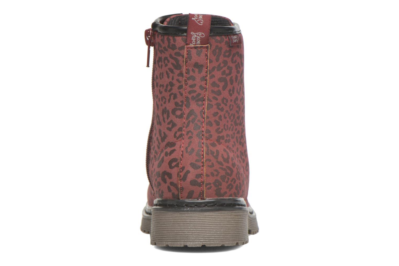 XOPULL Leopardo burgandy