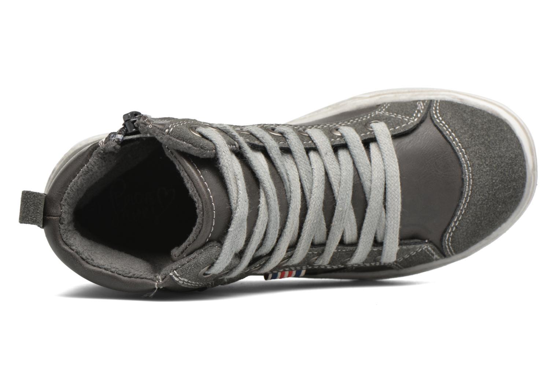 Sneaker I Love Shoes xEPHRE grau ansicht von links