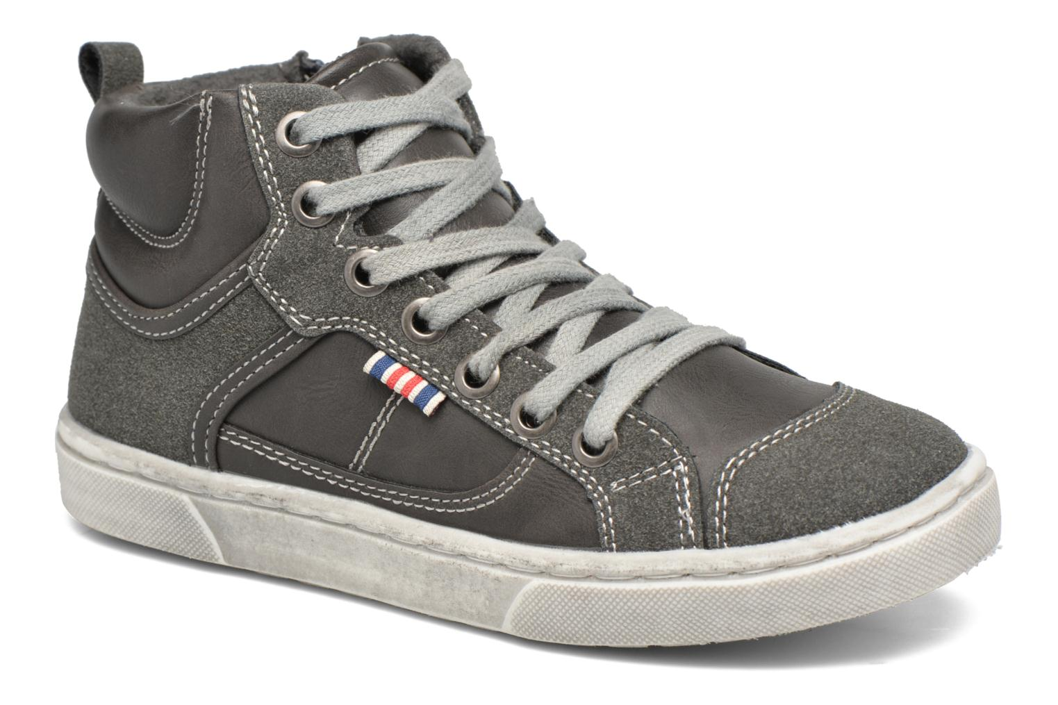 Baskets I Love Shoes xEPHRE Gris vue détail/paire