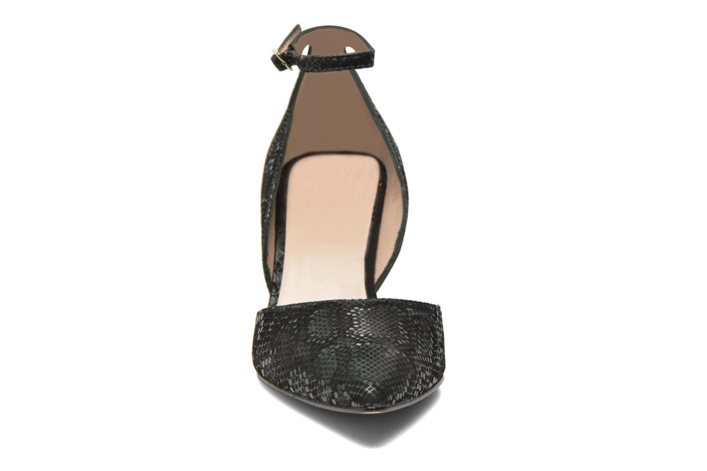 Zapatos de tacón Georgia Rose Ficelet Verde vista del modelo