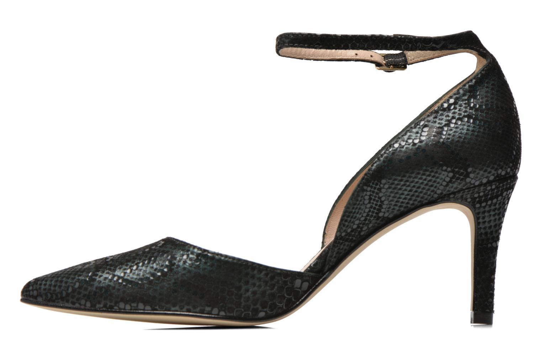 Zapatos de tacón Georgia Rose Ficelet Verde vista de frente