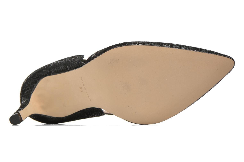 Zapatos de tacón Georgia Rose Ficelet Verde vista de arriba