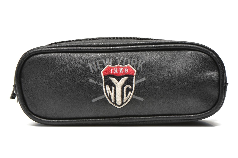 Scolaire IKKS Trousse double NYC Noir vue détail/paire