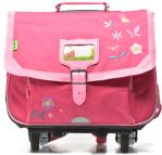 Cartable Flowers 38cm Trolley