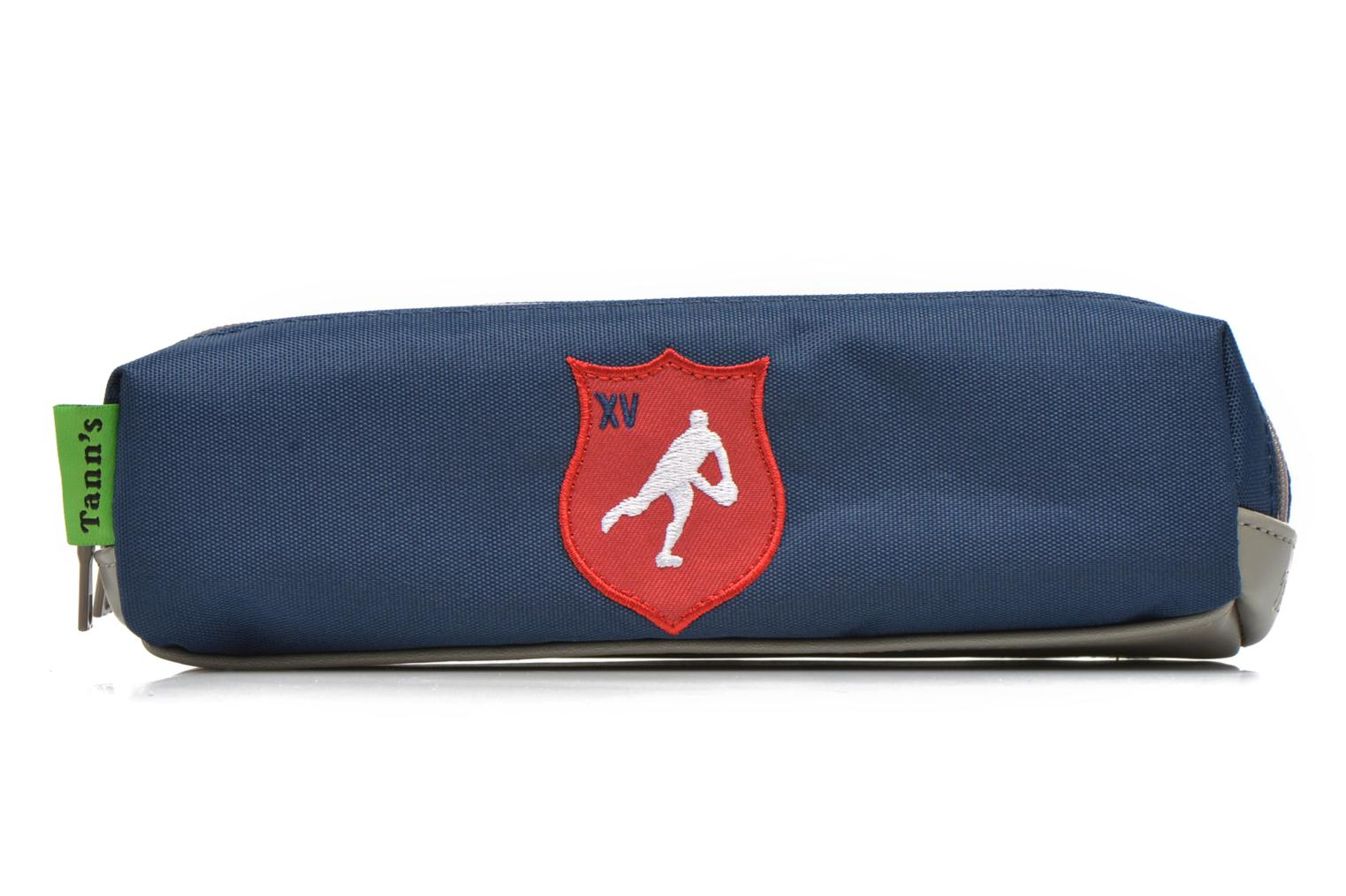 Trousse double Rugby Bleu 16