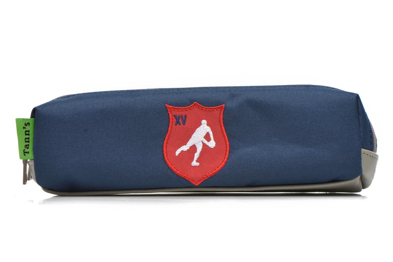 Scolaire Tann's Trousse double Rugby Bleu vue détail/paire