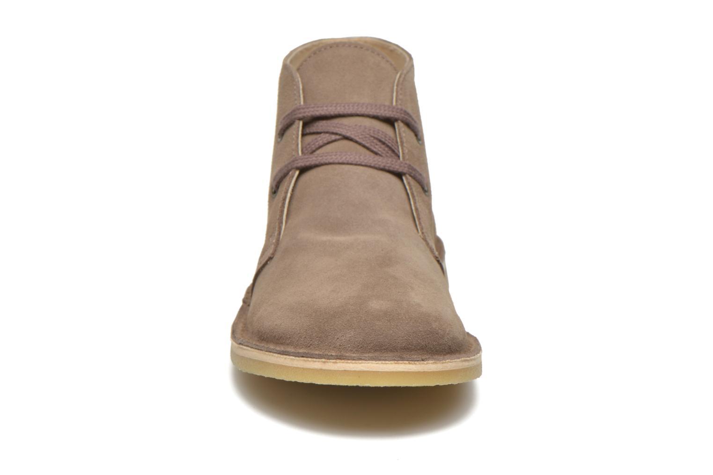 Chaussures à lacets Start Rite Colorado II Beige vue portées chaussures