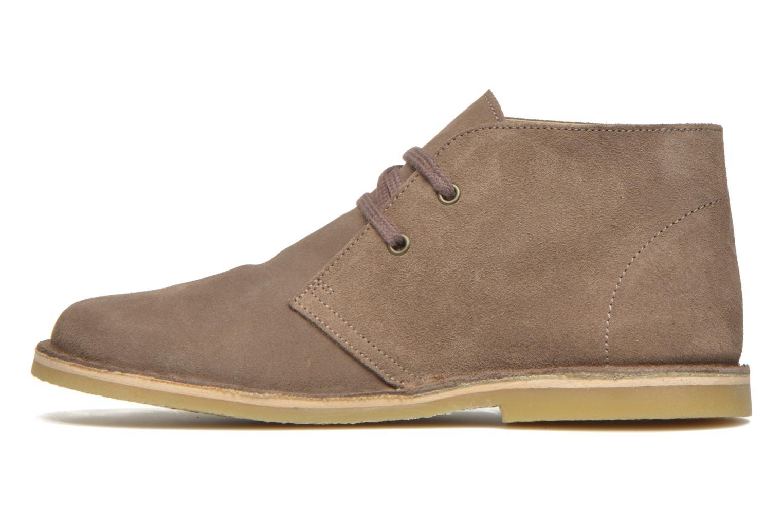 Chaussures à lacets Start Rite Colorado II Beige vue face