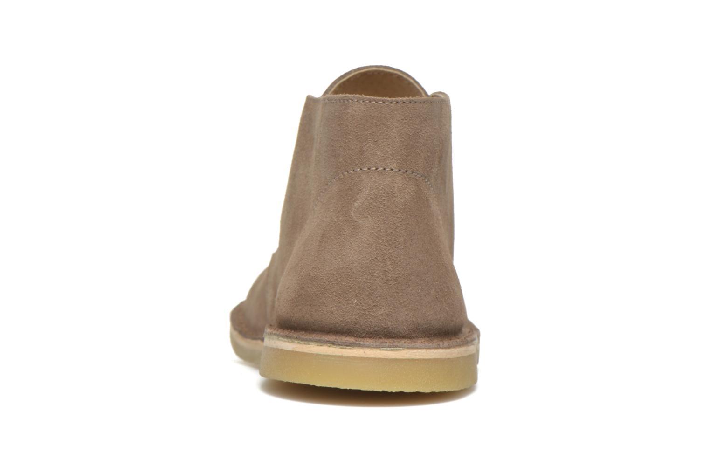 Chaussures à lacets Start Rite Colorado II Beige vue droite