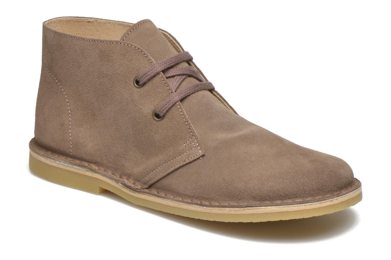 Chaussures à lacets Start Rite Colorado II Beige vue détail/paire