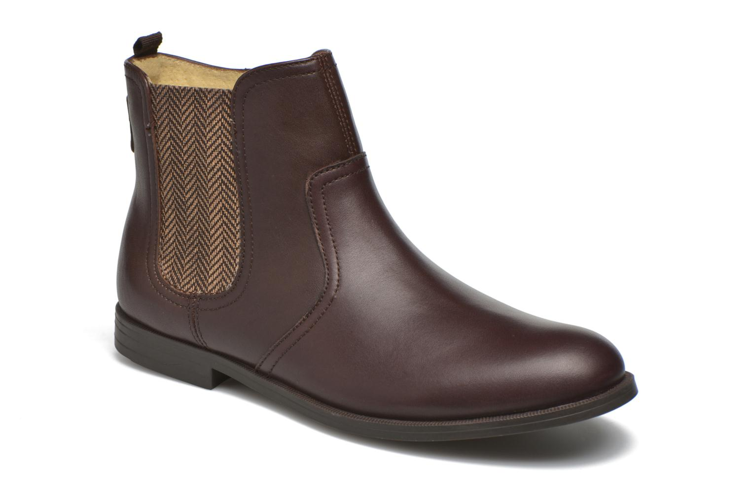 Bottines et boots Start Rite Equestrian Marron vue détail/paire