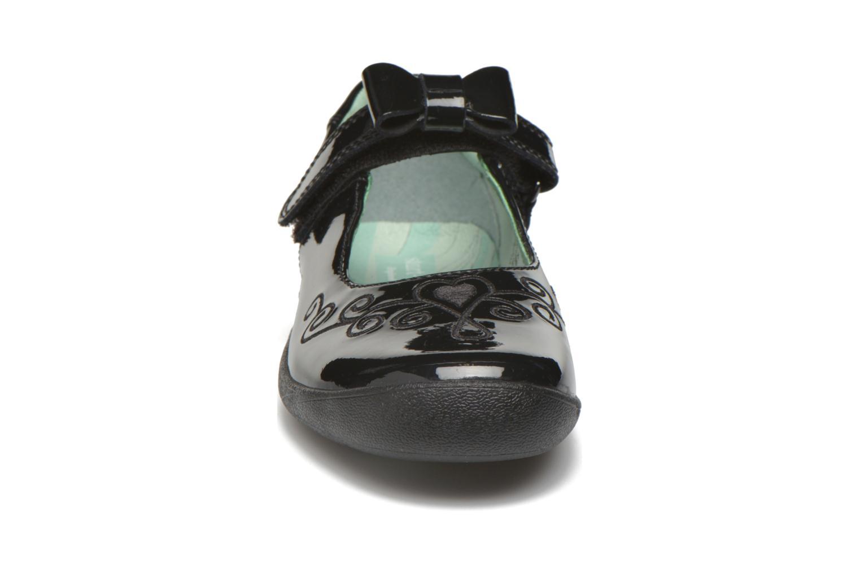 Ballerines Start Rite Princess Elza Noir vue portées chaussures