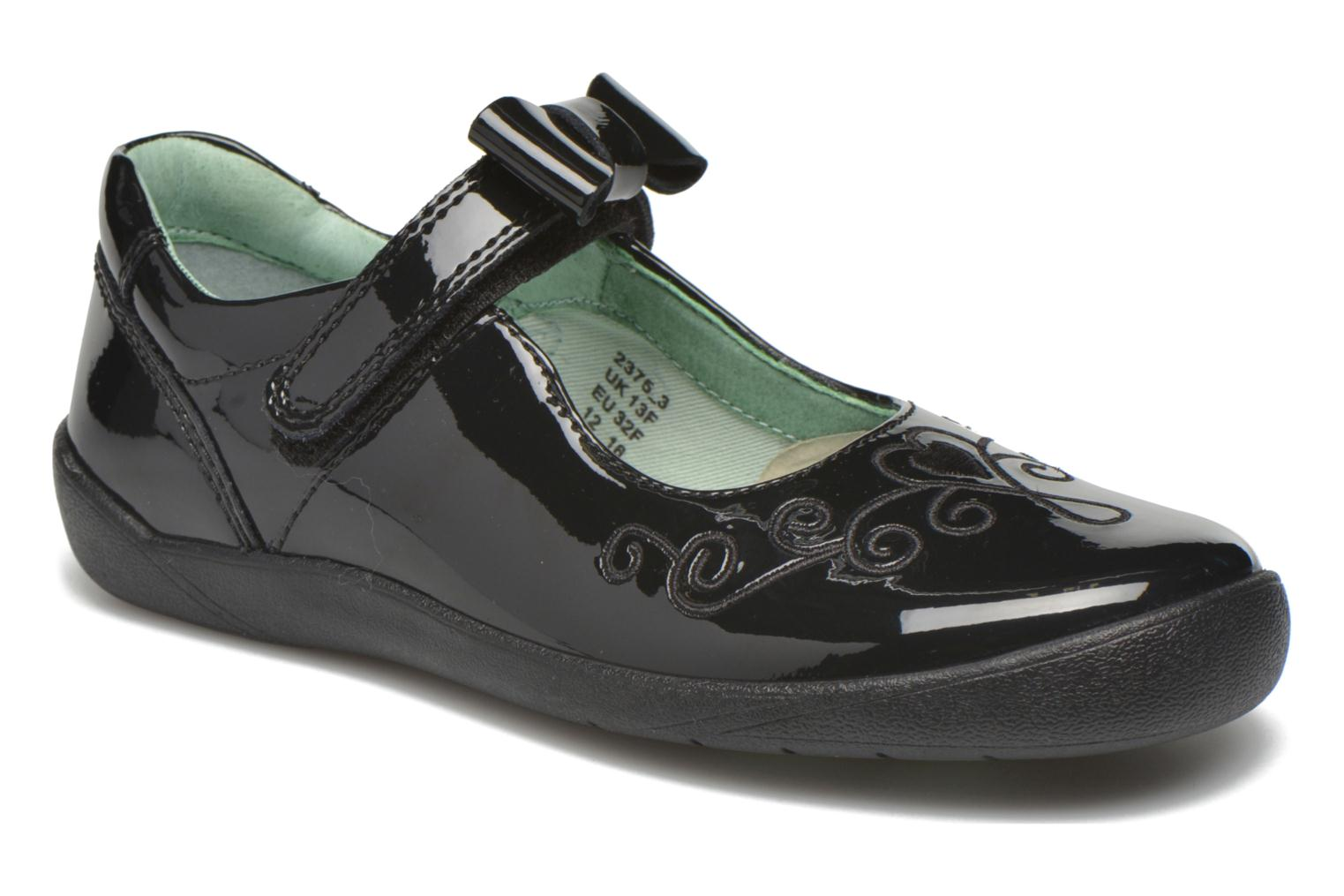 Princess Elza Black Patent