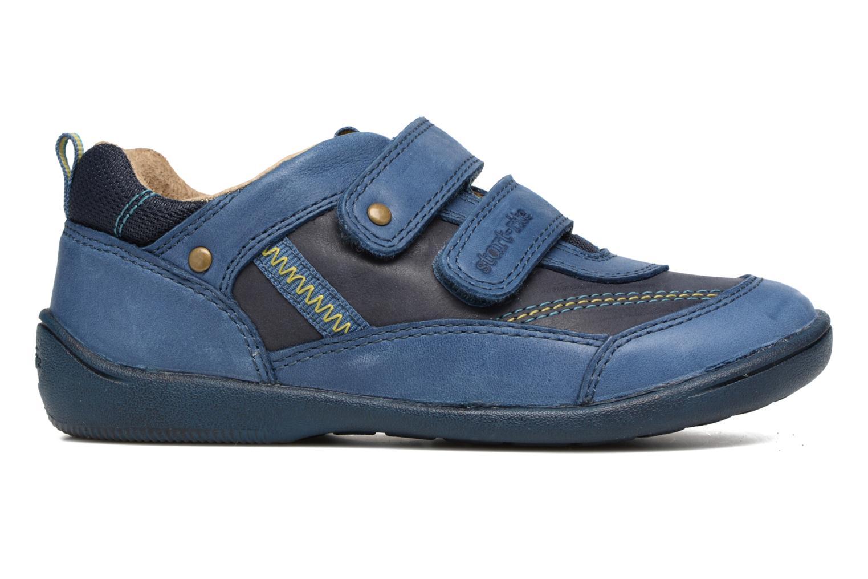 Chaussures à scratch Start Rite Leo Bleu vue derrière