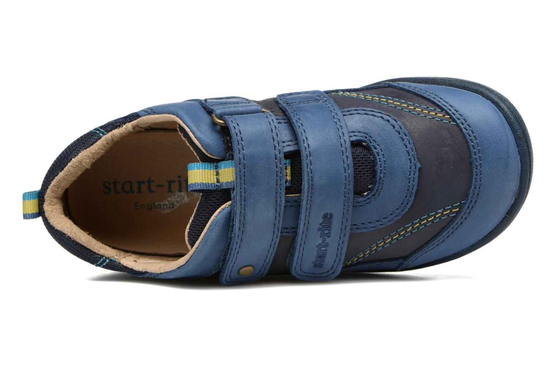 Scarpe con gli strappi Start Rite Leo Azzurro immagine sinistra