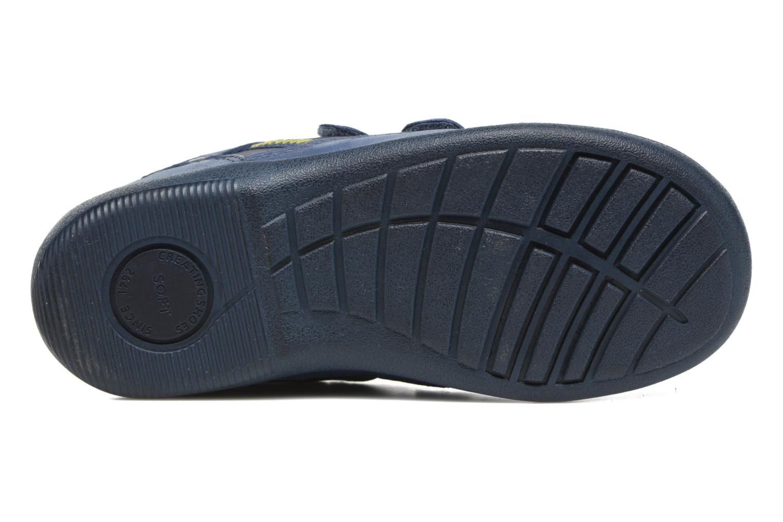 Scarpe con gli strappi Start Rite Leo Azzurro immagine dall'alto