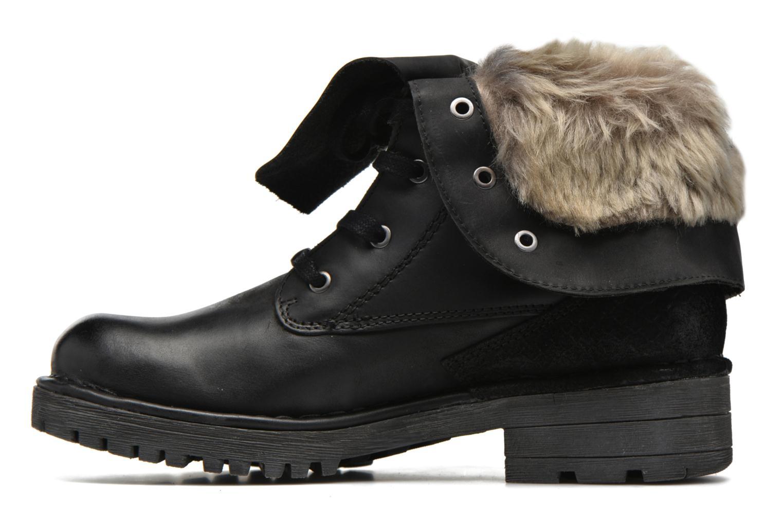 Bottines et boots Bugatti Jacky Revo Noir vue face