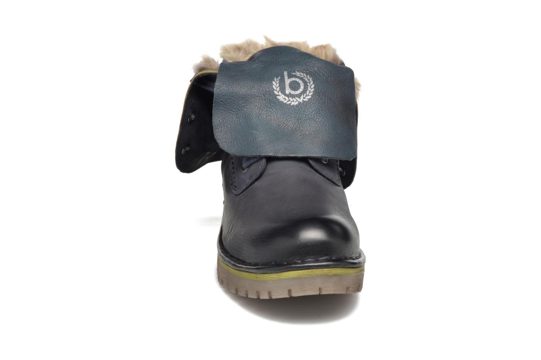 Bottines et boots Bugatti Jacky Revo Bleu vue portées chaussures