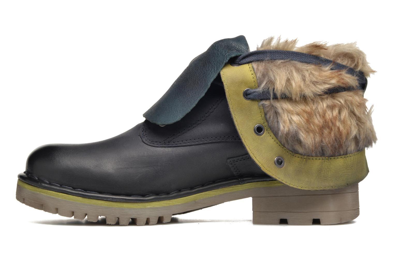 Bottines et boots Bugatti Jacky Revo Bleu vue face