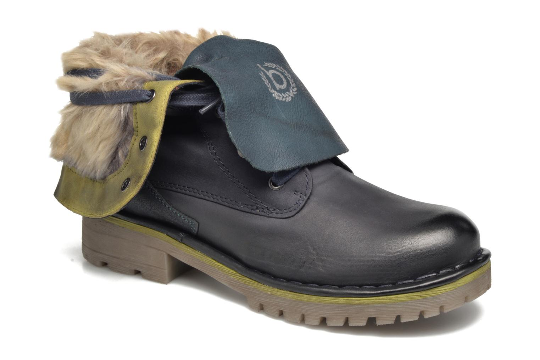 Bottines et boots Bugatti Jacky Revo Bleu vue détail/paire