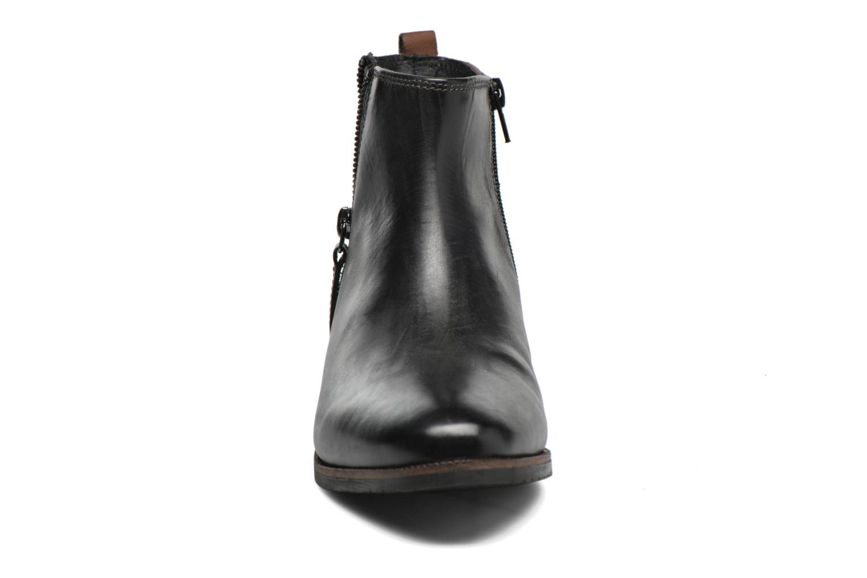 Bottines et boots Bugatti Faith Noir vue portées chaussures