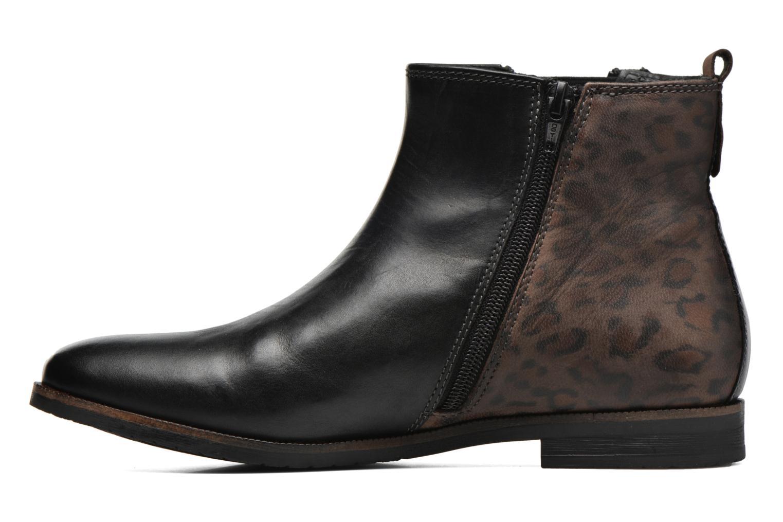 Bottines et boots Bugatti Faith Noir vue face