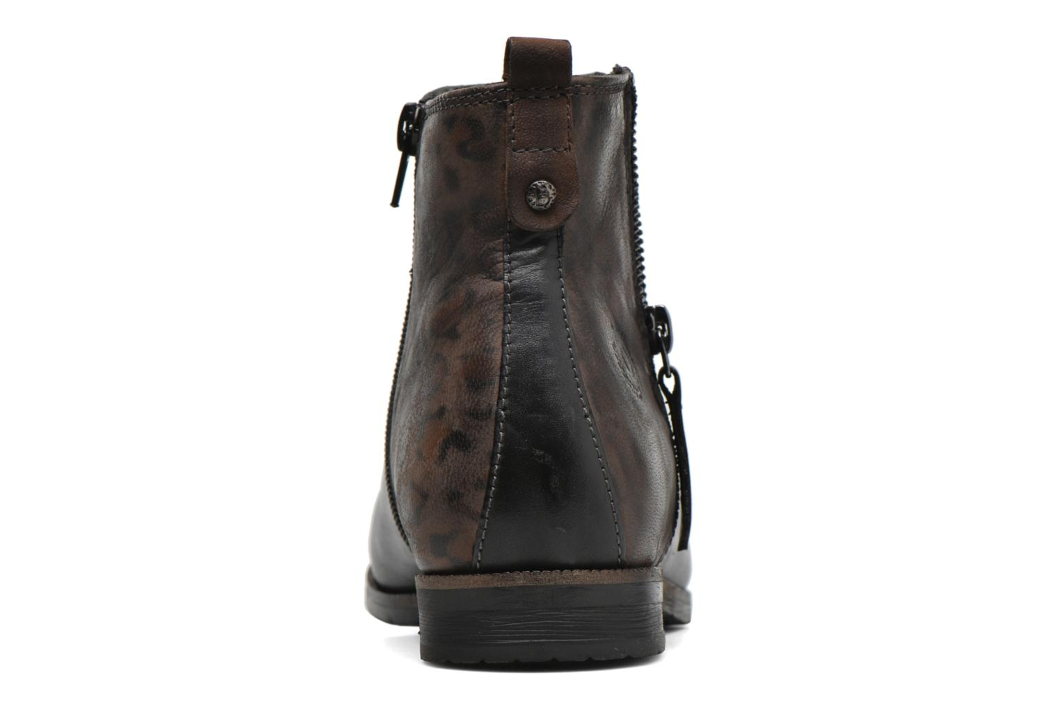 Ankle boots Bugatti Faith Black view from the right
