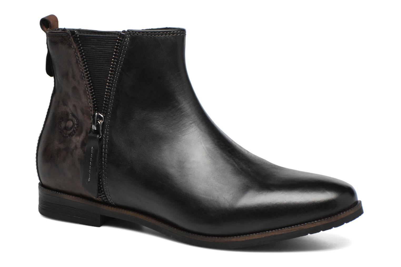 Ankle boots Bugatti Faith Black detailed view/ Pair view