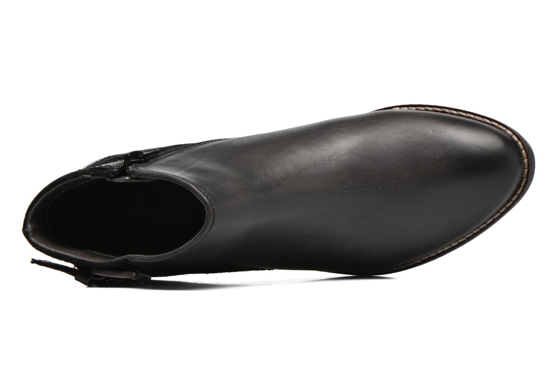 Botines  Bugatti Lusie II Negro vista lateral izquierda