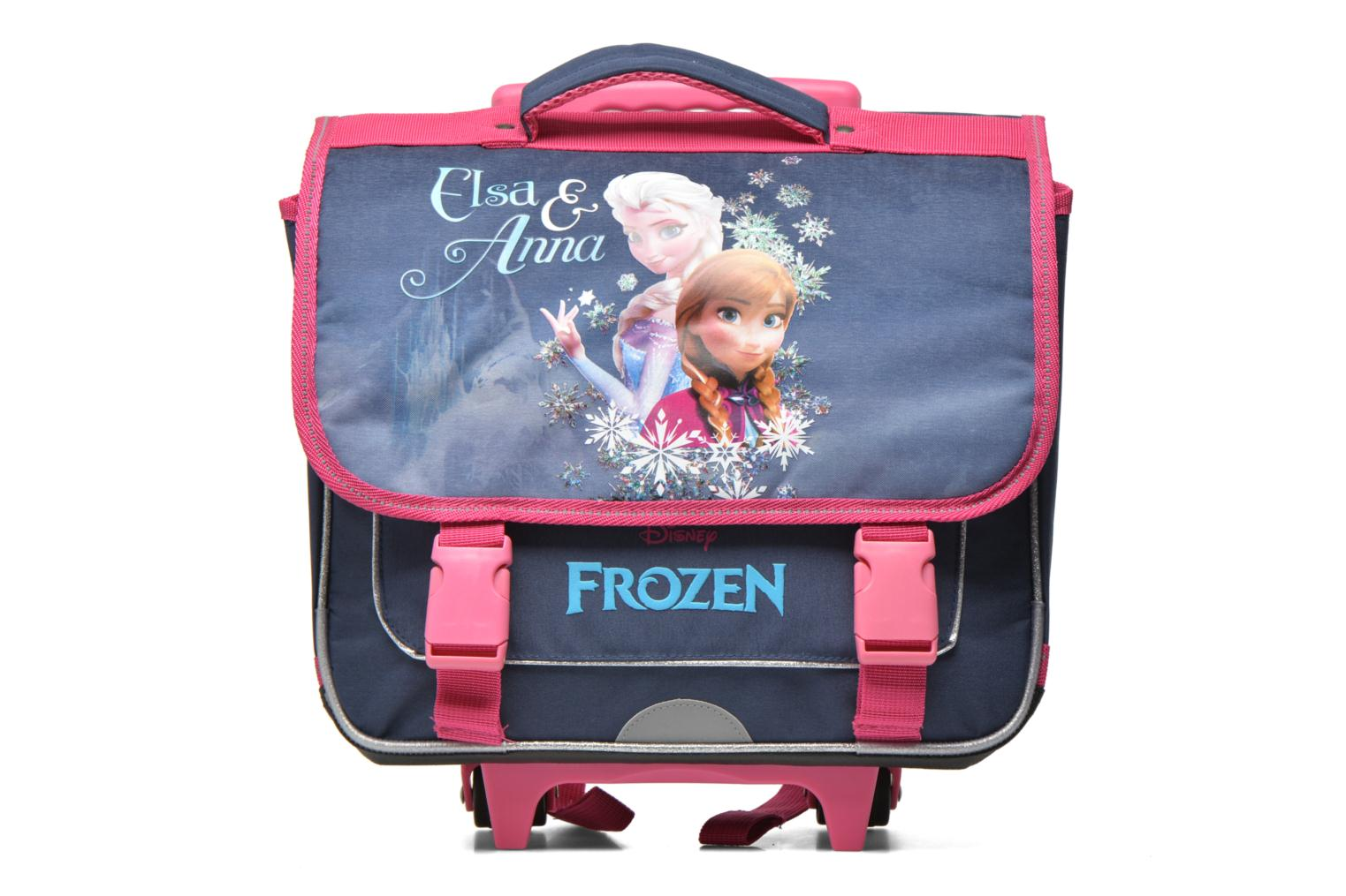 Cartable 38cm Trolley Reine des neiges Bleu