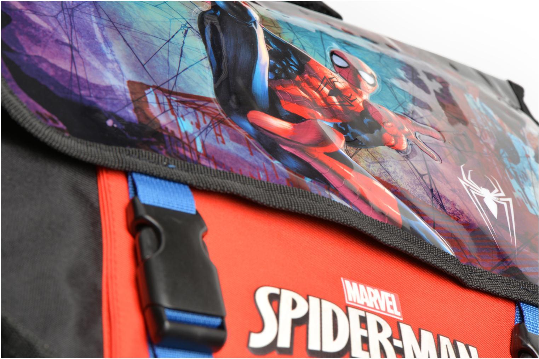 Schulzubehör Disney Cartable 38cm Spider-Man schwarz ansicht von links
