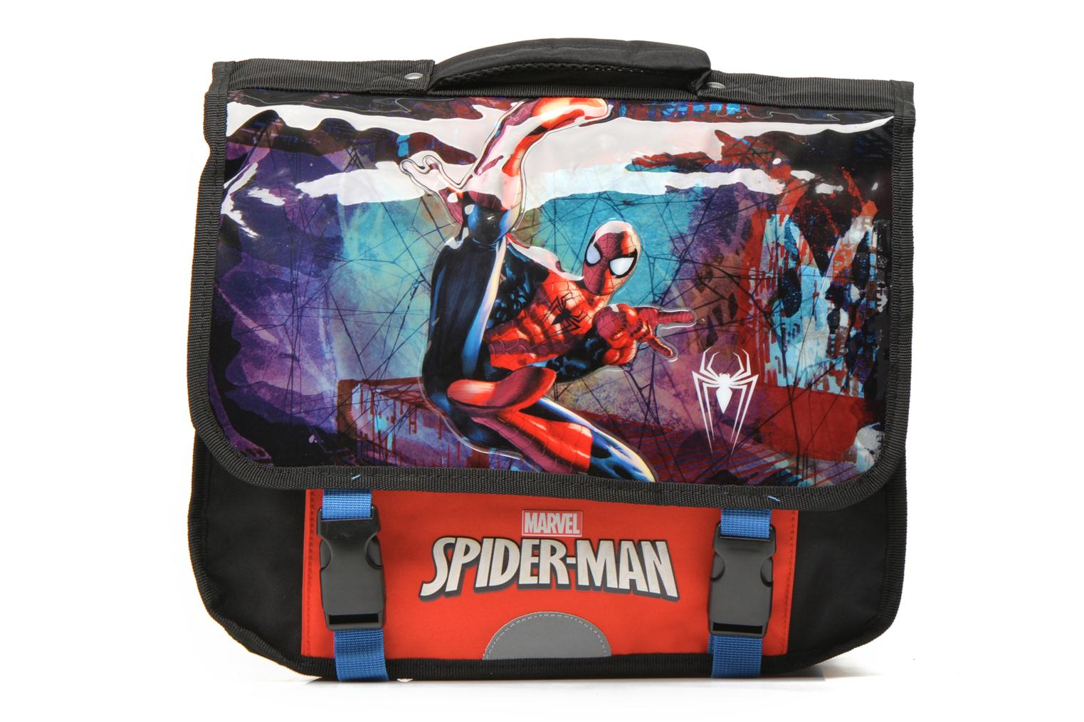 School bags Disney Cartable 38cm Spider-Man Black detailed view/ Pair view