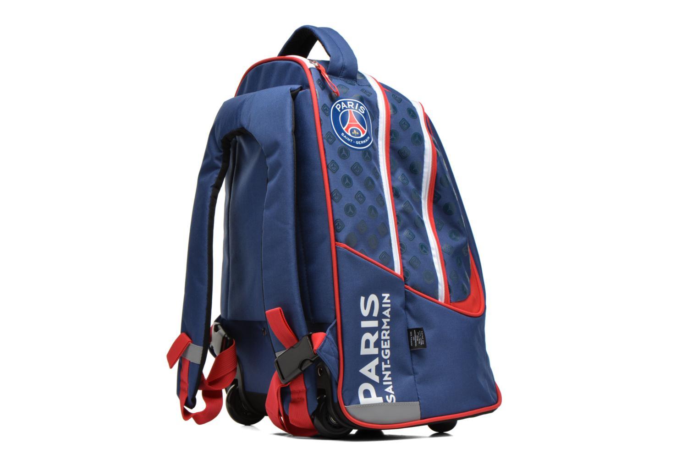 Scolaire FOOTBALL CLUB Sac à dos Trolley PSG Bleu vue droite