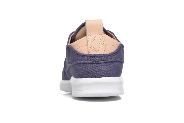 Sneaker Vans Brigata Lite blau ansicht von rechts
