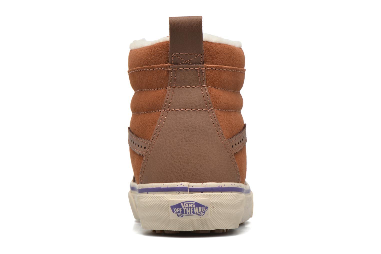 Sneakers Vans SK8-Hi 46 MTE Bruin rechts