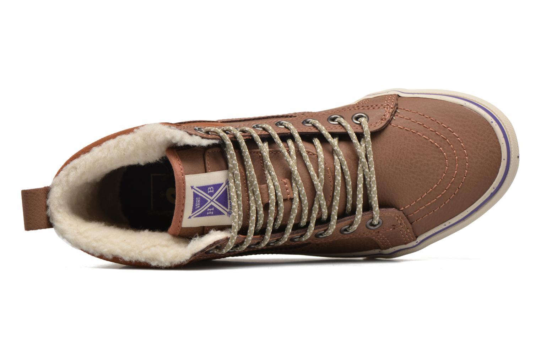 Sneakers Vans SK8-Hi 46 MTE Bruin links
