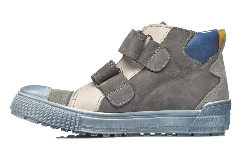 Sneaker Babybotte Karavane grau ansicht von vorne
