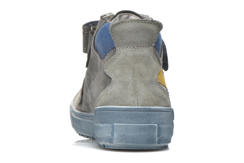 Sneaker Babybotte Karavane grau ansicht von rechts