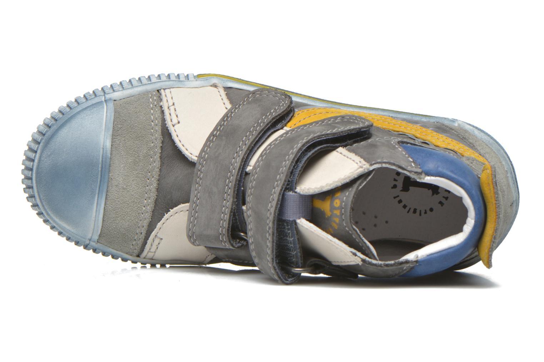 Sneaker Babybotte Karavane grau ansicht von links