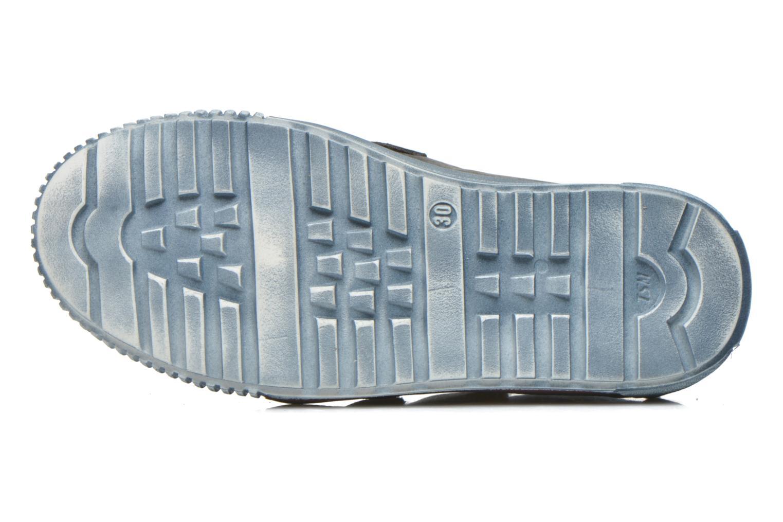 Sneaker Babybotte Karavane grau ansicht von oben