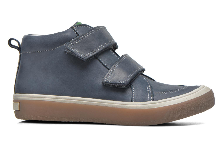 Zapatos con velcro Babybotte Kadreur Azul vistra trasera
