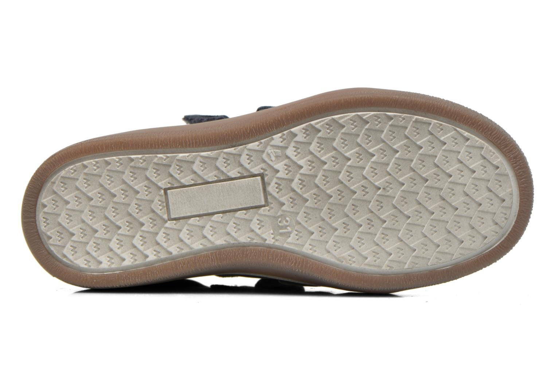 Zapatos con velcro Babybotte Kadreur Azul vista de arriba